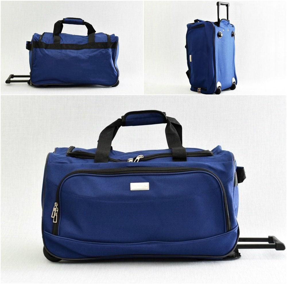 0fde7d21517 Сак за ръчен багаж с колелца и регулираща се дръжка, 54/30/29 см, от ...